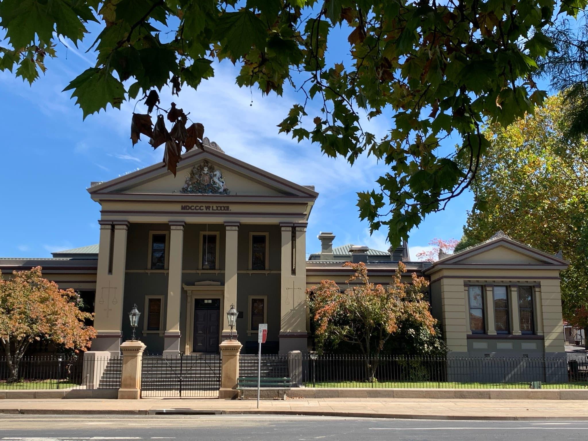 Orange court house